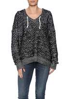 Ppla Textured Hooded Sweater