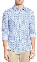 Gant Flower Print Fitted Sport Shirt