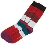 Ted Baker Eider Color Block Striped Socks