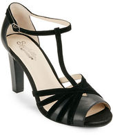 Seychelles Lap Suede and Leather Sandal Heels