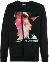 Les Benjamins printed Bowie sweatshirt