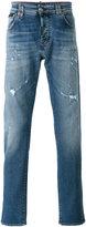 Philipp Plein distressed slim-fit jeans - men - Cotton/Spandex/Elastane - 30