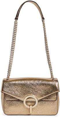 Sandro Small Metallic Yza Shoulder Bag