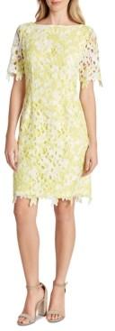 Tahari ASL Lace Sheath Dress