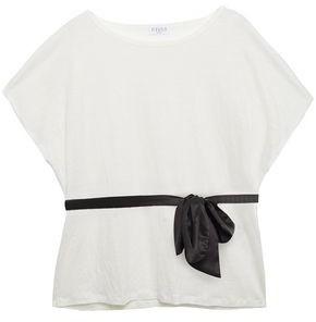 Claudie Pierlot Linen-jersey Top