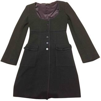 Emporio Armani Brown Coat for Women Vintage