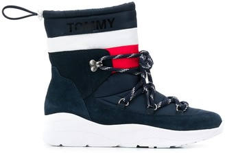 Tommy Jeans Padded Drawstring Boots