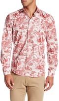 Ganesh Long Sleeve Toile Print Shirt