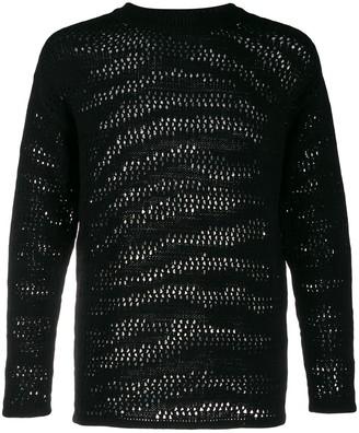 Roberto Cavalli zebra knit jumper