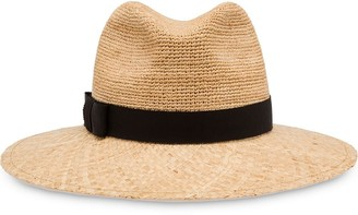 Prada Straw Hat With Ribbon