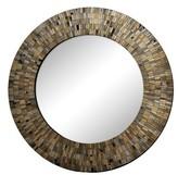 Ren Wil Renwil Aventurine Round Mirror