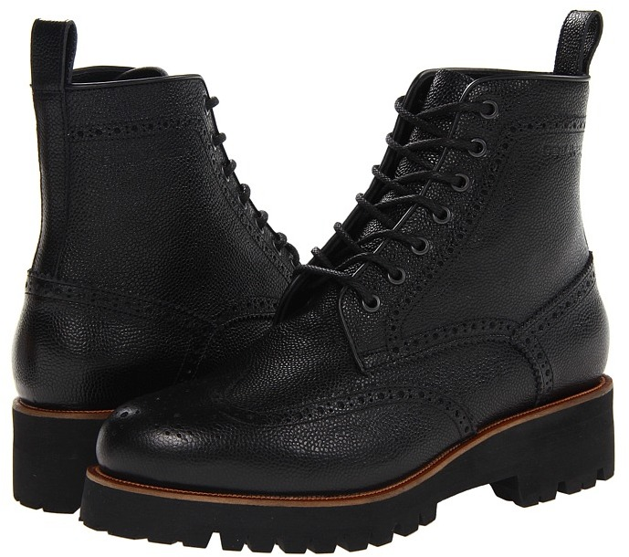 DSquared DSQUARED2 - Brick Ankle Boot (Black) - Footwear