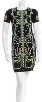 Peter Pilotto Patterned Stretch Knit Dress