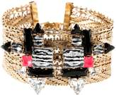 Sabrina Dehoff Gold Metal Bracelet