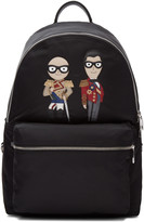 Dolce & Gabbana Black Knight Designers Backpack