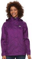 High Sierra Women's Easy Trek Hooded Packable Rain Jacket