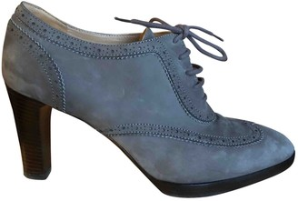 Fratelli Rossetti \N Grey Suede Ankle boots