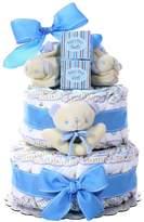 Baby Boy Baby Cakes Size 2 Diaper Cake Gift Basket