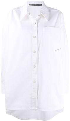 Alexander Wang oversized denim jacket