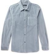 A.p.c. - Trevor Slim-fit Cotton-corduroy Shirt