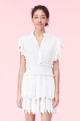 Rebecca Taylor La Vie Michelle Smocked Dress