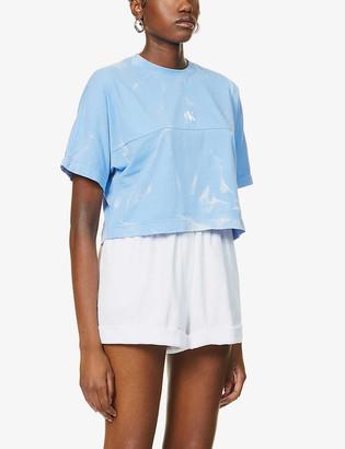 Calvin Klein Tie-dye cotton-jersey T-shirt