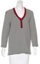 Tory Burch Striped Long Sleeve Tunic w/ Tags
