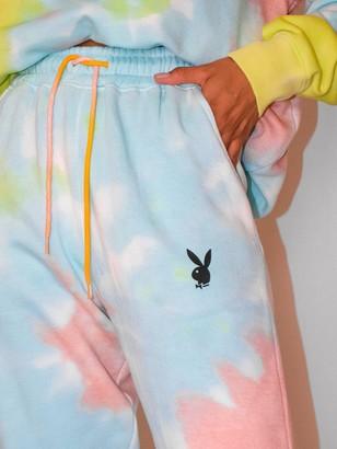 Missguided XPlayboy Tie Dye Oversized Joggers - Multi