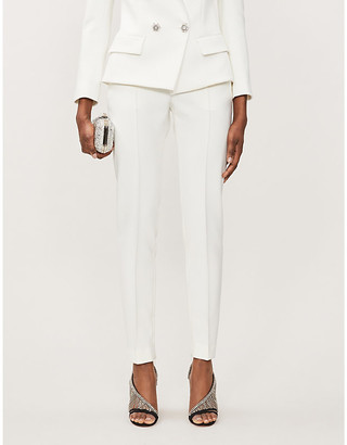 Alexandre Vauthier High-rise stretch-woven tapered trousers