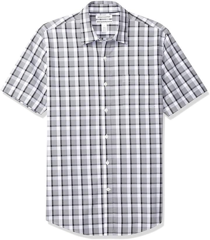 94fa75d6 Red Grey Plaid Shirt - ShopStyle Canada