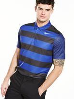 Nike Breathe Bold Stripe Polo Shirt