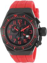 Swiss Legend Men's 10540-BB-01-RDAS Trimix Diver Chronograph Dial Red Silicone Watch