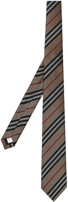 Burberry Classic Cut Icon Stripe Silk Tie