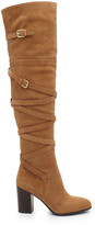Sam Edelman Sable Suede Over the Knee Boot