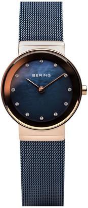 Bering Women's Two-Tone Mesh Bracelet Watch