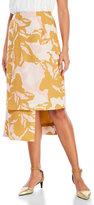 Keepsake Reality Asymmetrical Midi Skirt
