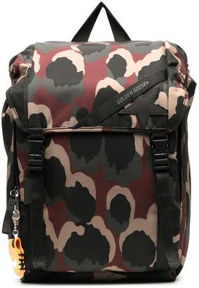 Golden Goose All-Over Patterned Backpack