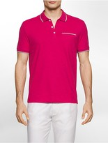 Calvin Klein Classic Fit Contrast Trim Polo Shirt