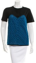 Derek Lam Embroidered Short Sleeve Blouse w/ Tags