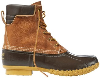 "L.L. Bean Men's Tumbled-Leather L.L.Bean Boots, 8"" Padded Collar"