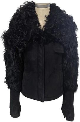 Gucci Black Mongolian Lamb Leather jackets