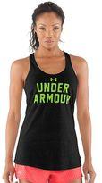 Under Armour Women's Undeniable Wordmark Tank