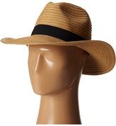 San Diego Hat Company PBF7300 Paper Braid Fedora w/ Bow Band Fedora Hats