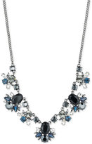 Givenchy Clear and Color Crystal Statement Necklace