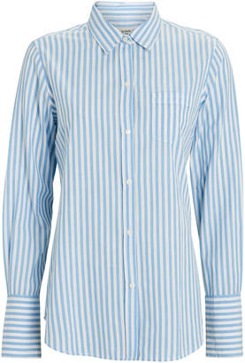Nili Lotan NL Striped Button-Down Shirt