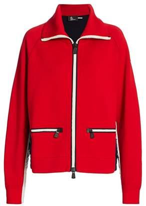 Moncler Zip-Front Jacket