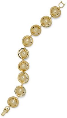 Noir 14-karat Gold-plated Bracelet