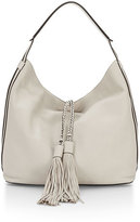 Rebecca Minkoff Isobel Leather Hobo Bag, Putty