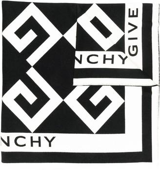 Givenchy Oversized logo scarf