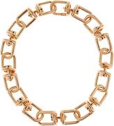 Eddie Borgo Fame Link gold-plated necklace